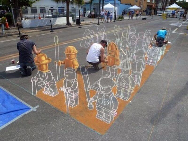 А ви знали як створюються 3D-малюнки?