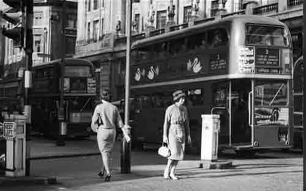 История лондонского автобуса