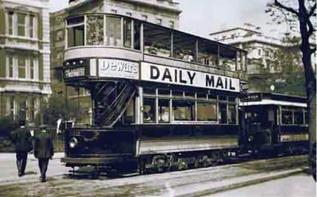 Історія лондонського автобуса