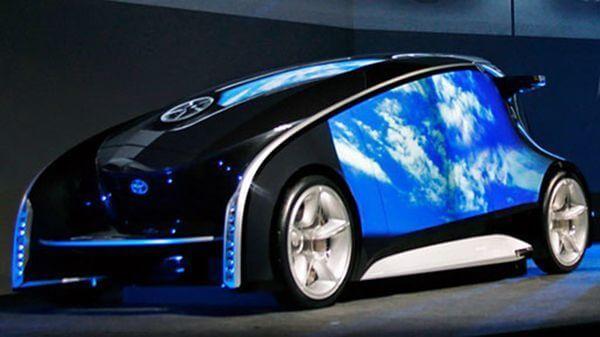 Toyota Fun-Vii - смартфон на колесах