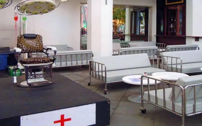 Cамое уютное кафе для инвалидов - Клиника