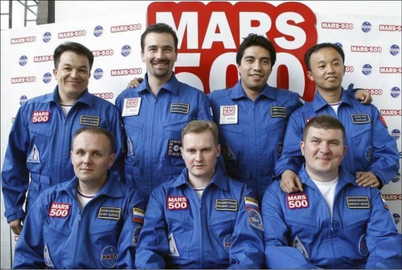 Проек Марс 500
