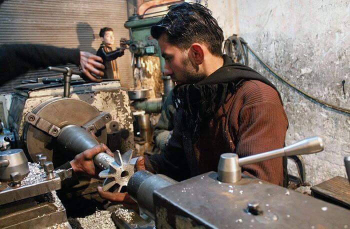 Саморобна зброя і боєприпаси сирійських повстанців