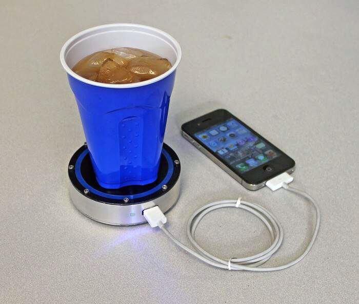 Теплова зарядка для мобільного телефону