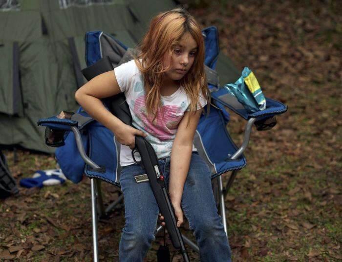 Суровый тренировочный лагерь для детей