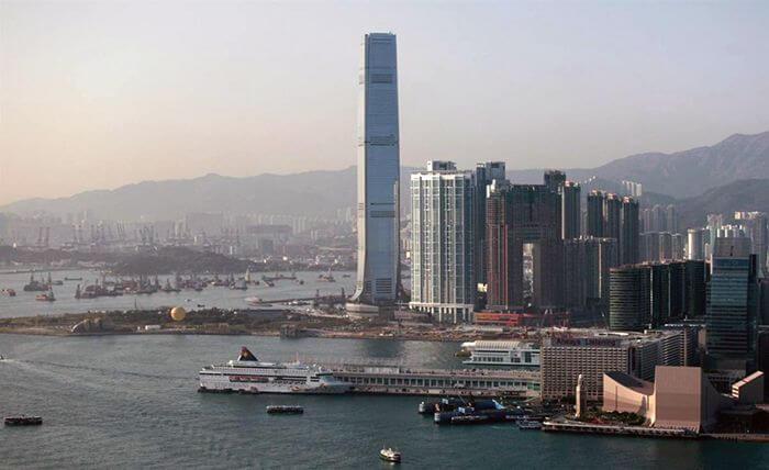 Международный коммерческий центр в Гонконге
