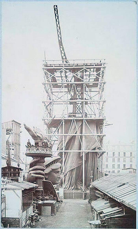 Строительство статуи Свободы