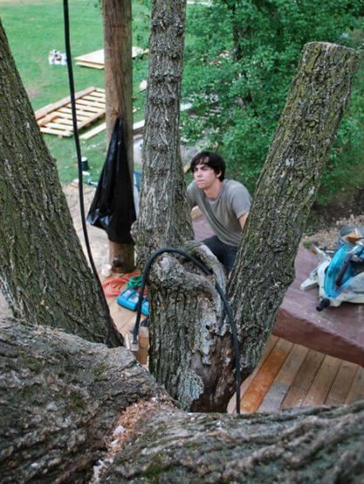 Будинок на дереві своїми руками