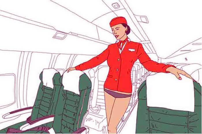 Взгляд изнутри - стюардессы