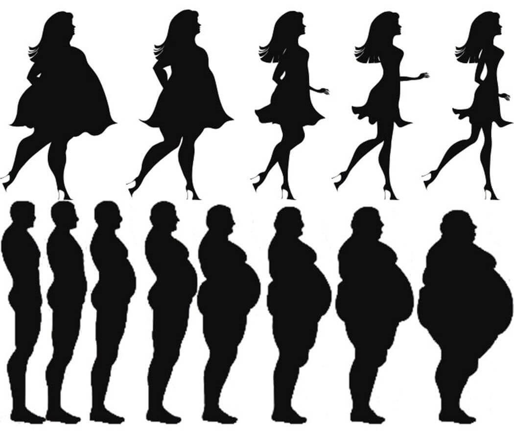 Чем больше зарабатывает мужчина, тем больше он страдает от избыточного веса. У женщин наоборот, меньший заработок означает большой вес