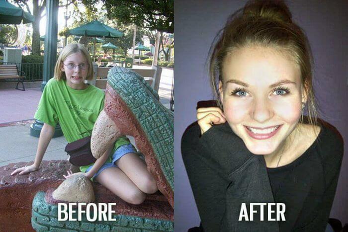 Як дівчата змінюються після школи