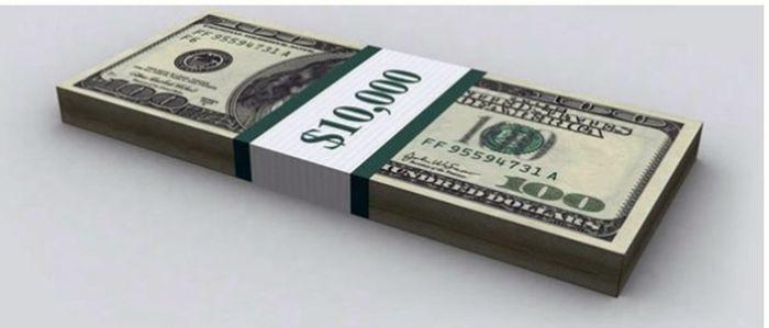 Доллар, и его количество до 17 трлн.