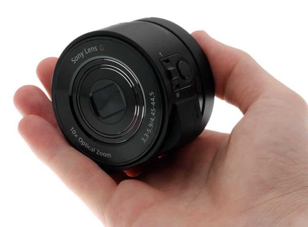Sony QX-10 – телефон з автономним об'єктивом