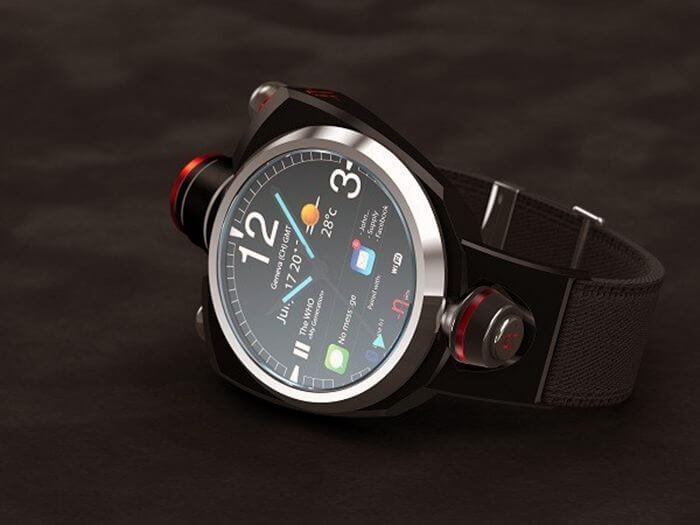 Hyetis Crossbow – часы с камерой 41 мегапиксель