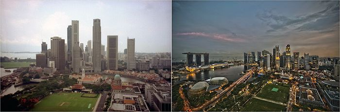 Міста, змінилися до невпізнання