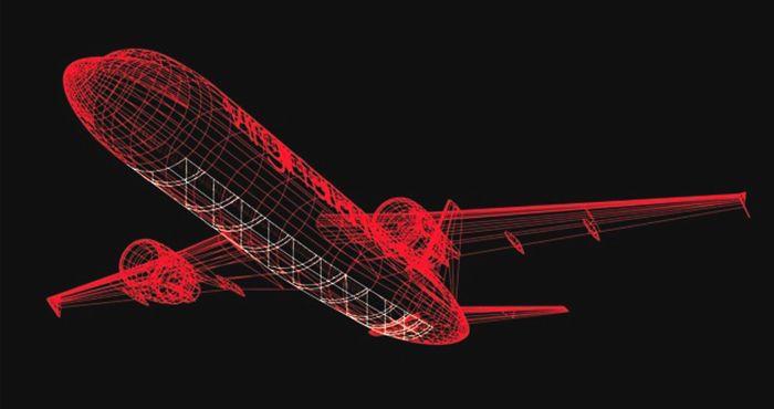 Нововведення - скляна підлога в літаках А320
