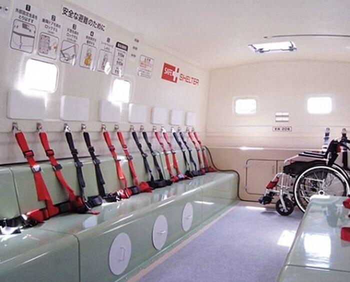 Tajima Motor Corporation разработала плавучее укрытие