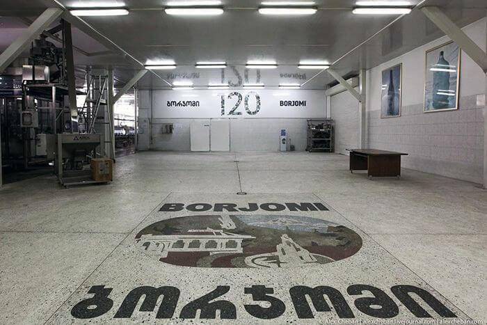 Как производят Borjomi