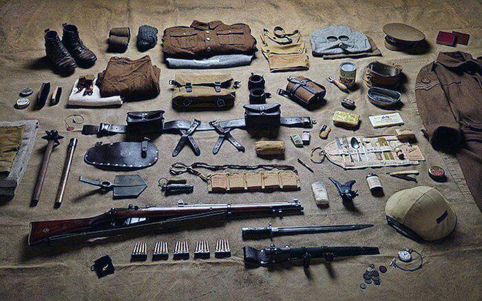 Фотопроект «Солдатська амуніція»