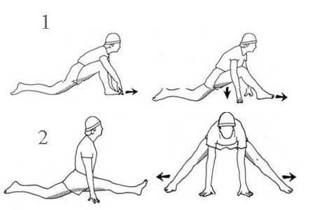 Упражнения для шпагата быстро в домашних условиях 22