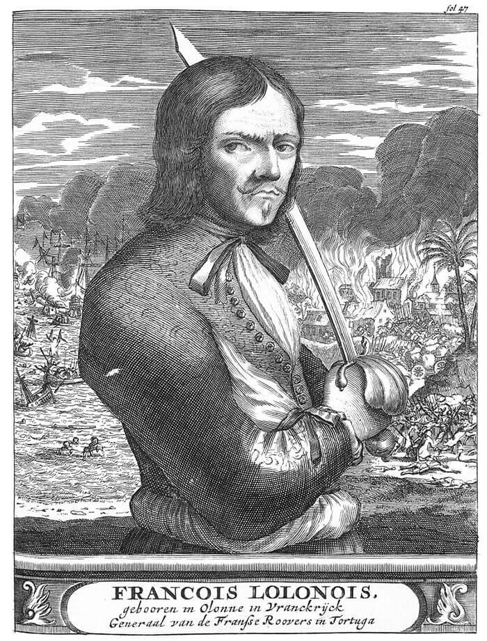 Француа Олонэ (1630-1668)