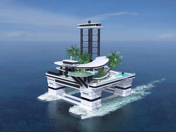 Штучный остров