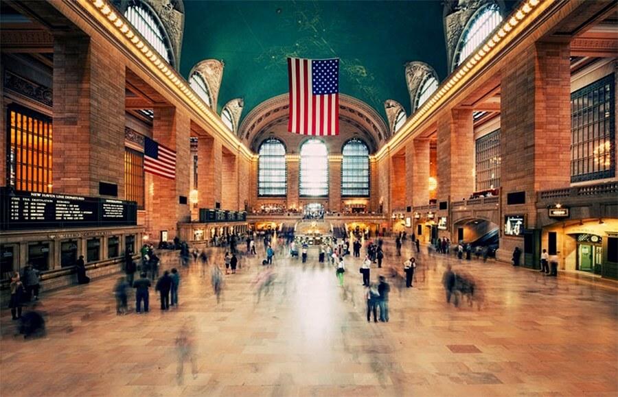 Центральный вокзал Нью-Йорка