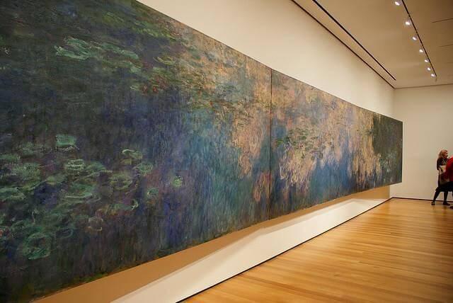 Известная картина «Водяные лилии»