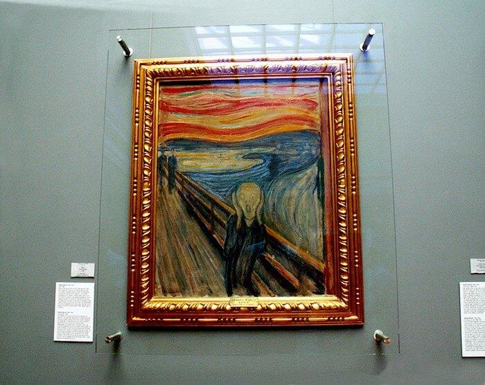 Известная картина «Крик»