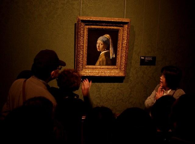Известная картина «Девушка с жемчужной сережкой»
