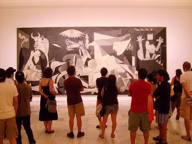 Известная картина «Герника»