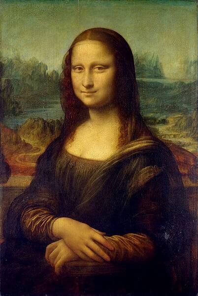 Известная картина «Мона Лиза»