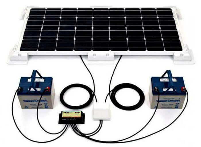 Як влаштовані сонячні батареї