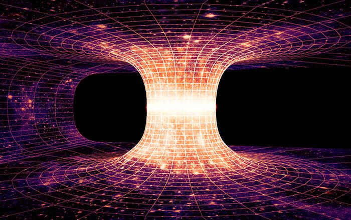 Викривлення чорної діри.